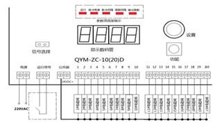 脉冲控制仪控制面板图片